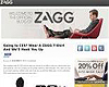 Free T-Shirt From Zagg